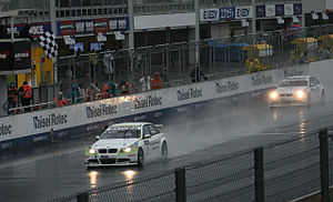 2009 FIA WTCC Race of Japan - Augusto Farfus won Race Two ahead of Andy Priaulx.