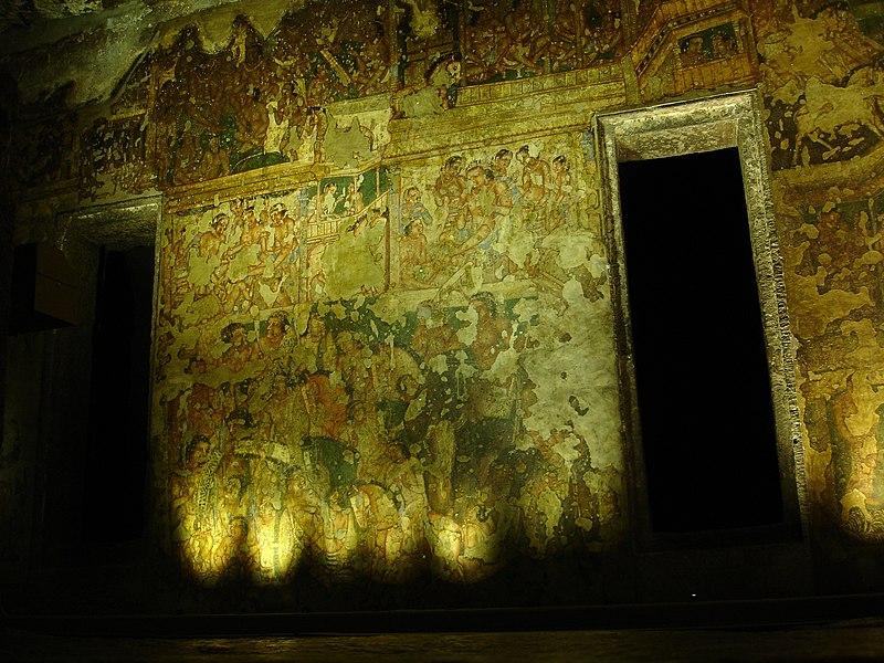 File:Aurangabad - Ajanta Caves (55).JPG