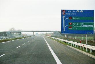 Luboń - Image: Autostrada A 2