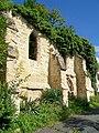 Auvers-sur-Oise (95), chapelle St-Nicolas du Valhermeil d'avant 1222, ruinée après 1914, rue des Roches.jpg