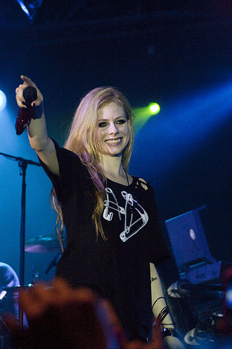 Dancing Crazy - Avril Lavigne wrote the song, about dancing through the night.