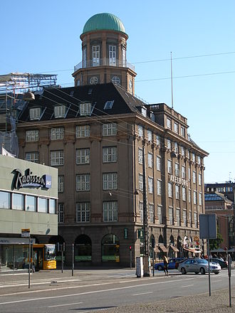 Axelborg - Axelborg viewed from Vesterbrogade