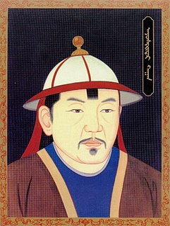 Biligtü Khan Ayushiridara Khagan of the Mongols or Great Yuan