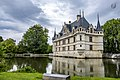 Azay Le Rideau, Chateu in the river.jpg