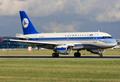 Azerbaijan Airlines A319-100 4K-AZ04 PRG 2011-6-26.png