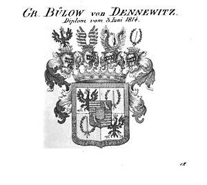 Bülow family - Image: Bülow von Dennewitz Tyroff HA