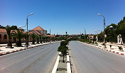 Bordj Bou Arréridj, N5 national highway across the downtown.