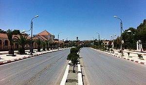 Bordj Bou Arréridj - Bordj Bou Arréridj, N5 national highway across the downtown.