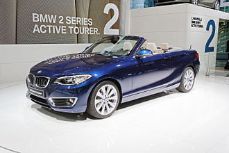 2014 Paris Motor Show - BMW 2 Series Convertible at Paris 2014