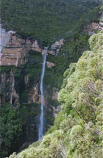 Grose Valley - Image: BRIDAL VEIL FALLS