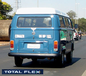"Volkswagen do Brasil - VW Type 2 TotalFlex (Known as ""Kombi"")."