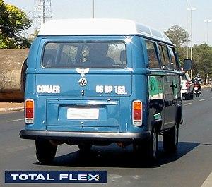 """Volkswagen do Brasil - VW Type 2 TotalFlex (Known as """"Kombi"""")."""