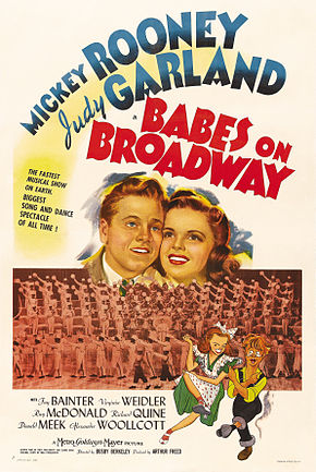 Description de l'image Babes on Broadway poster.jpg.