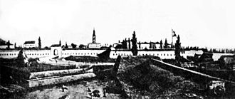 Babruysk - Babruysk fortress in 1811