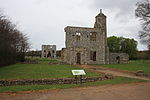 Baconsthorpe Castle, Norfolk - viewed from car park.JPG