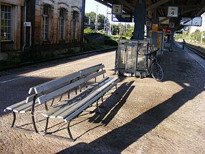 Bad Kleinen station - Bad Kleinen station, platform 3/4. (summer 2008)