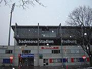 Badenova-Stadion (ehemals Dreisamstadion) Außenansicht