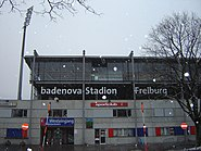Badenova-Stadion Außenansicht