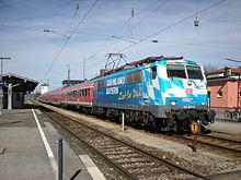 Weilheim oberbay station for Depot schongau