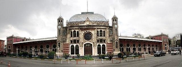 Železničná stanica v Istanbule
