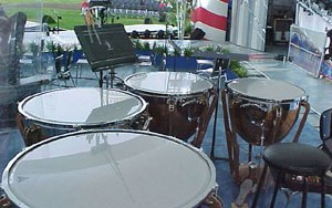 Balanced action timpani