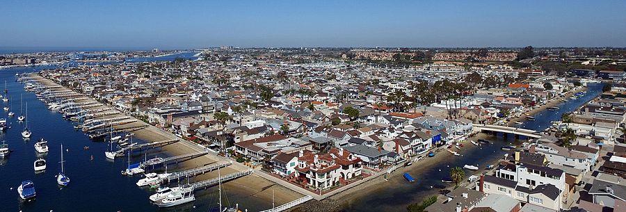 Balboa Island, Newport Beach California