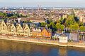 Ballonfahrt über Köln - Rheinauhafen, Siebengebirge, Rheinkontor, Rheinbastion, Elisabeth-Treskow-Platz-RS-4060.jpg