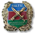 Balti Kaitsekolledži ühendtaseme juhtimis- ja staabikursuse lõpetanu rinnamärk (varasem).png