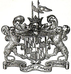 Arms of the Barons Baltimore