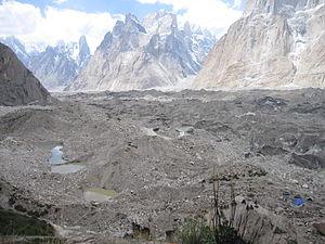 Baltoro Glacier - Image: Baltoro from Urdukas campsite