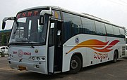 KSRTC buses connect Bangalore with other parts of Karnataka.