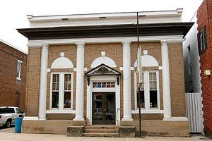 Franklin, West Virginia - Bank of Franklin