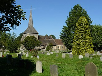 Banstead - Image: Banstead Church geograph.org.uk 1159947