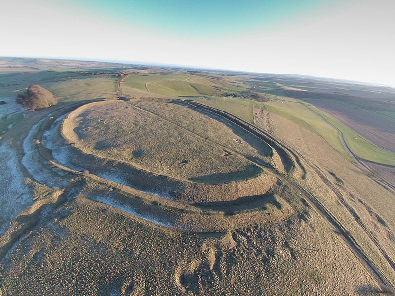 File:Barbury Hill Iron Age Fort.jpg
