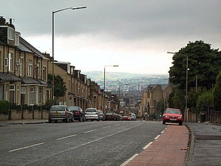 Barkerend Area of Bradford, West Yorkshire, England
