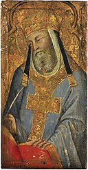 Bartolo di Fredi - A Papal Saint (Saint Gregory the Great^) - 15.953 - Museum of Fine Arts.jpg