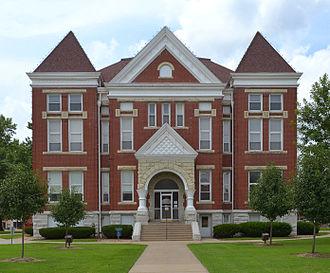 Barton County, Missouri - Image: Barton County MO Courthouse 20150715 8234