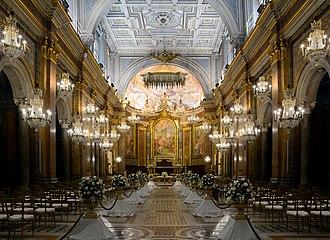 Basilica of Saints John and Paul on the Caelian Hill - Interior