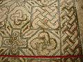 Basilica di aquilieia, mosaici, navata, tappeto geometrico 02.JPG