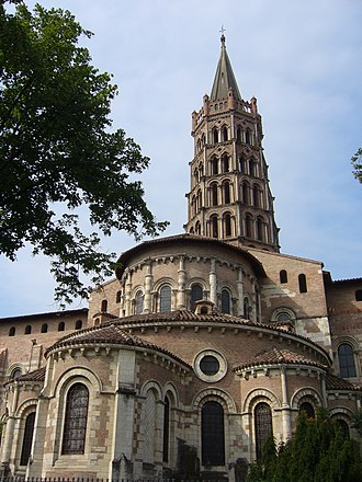 French Romanesque architecture - Image: Basilique St Sernin (1071046431)