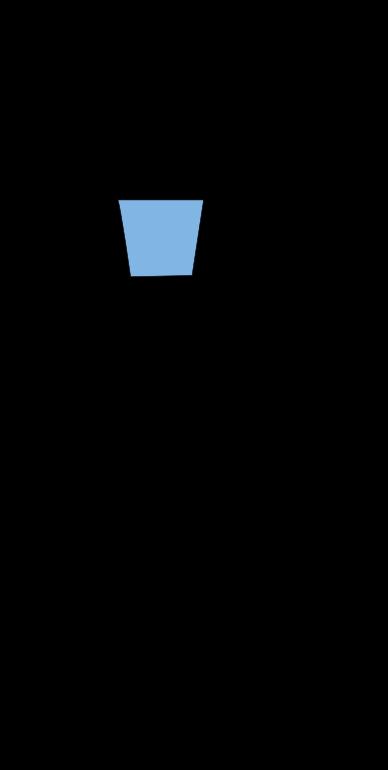Basketball backboard and basket bitmap