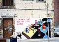 Basque Nationalist Mural, Mondragon, Gipuzkoa 02-2005.jpg