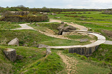 Battle field Pointe du Hoc Calvados, France.jpg