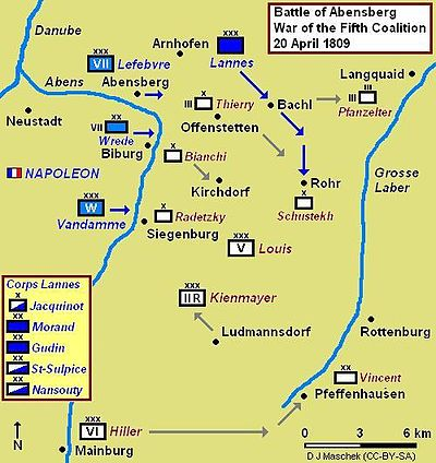 Battle of Abensberg - Wikipedia, the free encyclopedia