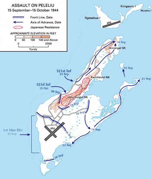 Fájl:Battle of Peleliu map.jpg