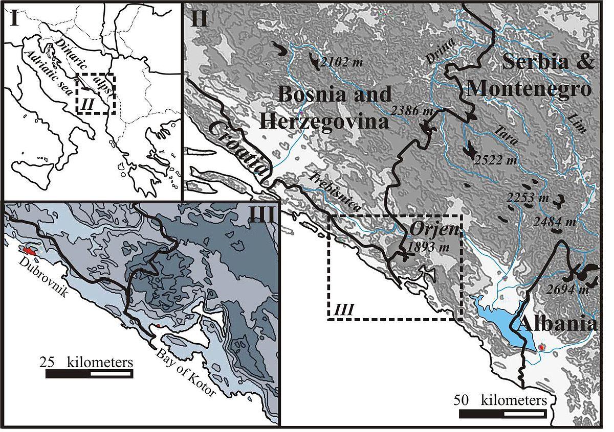 Maps: Bay Of Kotor