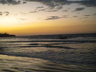 Tamarindo, Costa Rica - The coastline in Tamarindo