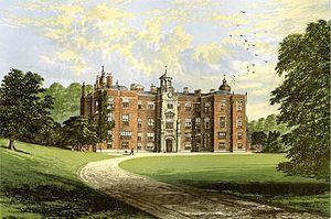 Beaudesert (house) - Beaudesert circa 1880.