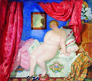 Beauty - Kustodiev, 1918.jpg