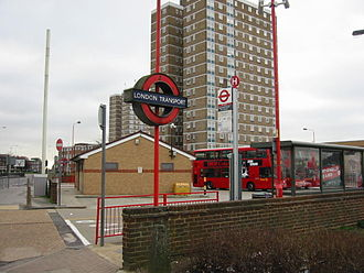 Becontree Heath - Image: Becontree heath bus station london
